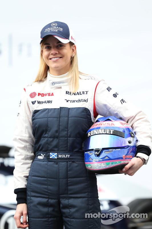 Susie Wolff, Williams F1 piloto de desenvolvimento
