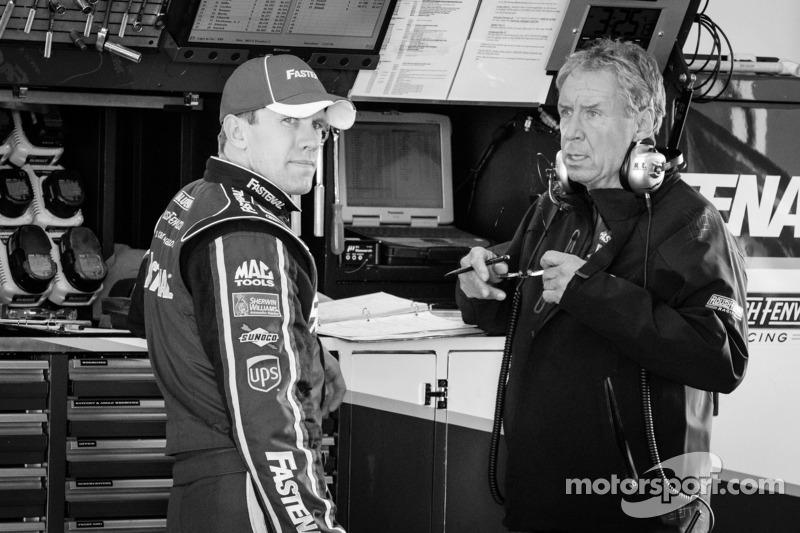 Carl Edwards, Roush Fenway Racing Ford en crew chief Jimmy Fenning