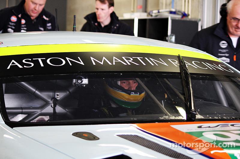 Тесты Aston Martin GTE, вторник.