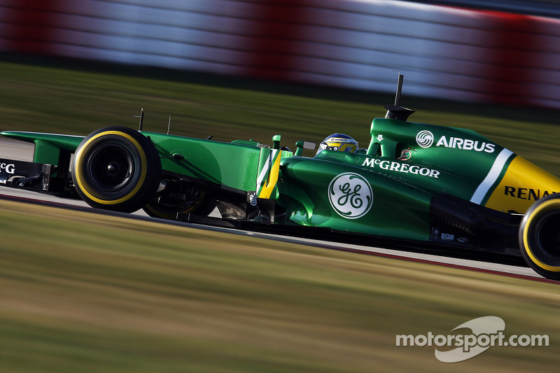 Шарль Пік, Caterham CT03