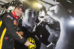 Shane Van Gisbergen, VIP Petfood Racing celebrates pole