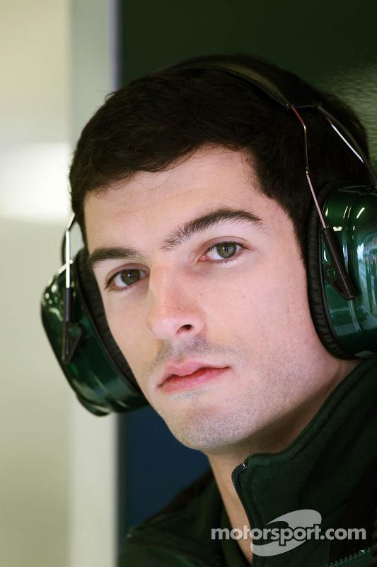 Alexander Rossi, piloto reserva da Caterham F1