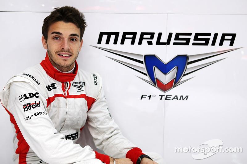 Jules Bianchi annoncé en tant que pilote Marussia F1 Team
