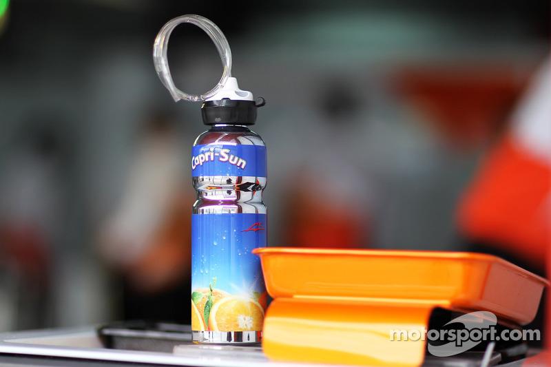 Capri Sun voor Adrian Sutil, Sahara Force India F1
