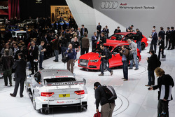 The Audi stand