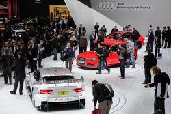 De Audi stand