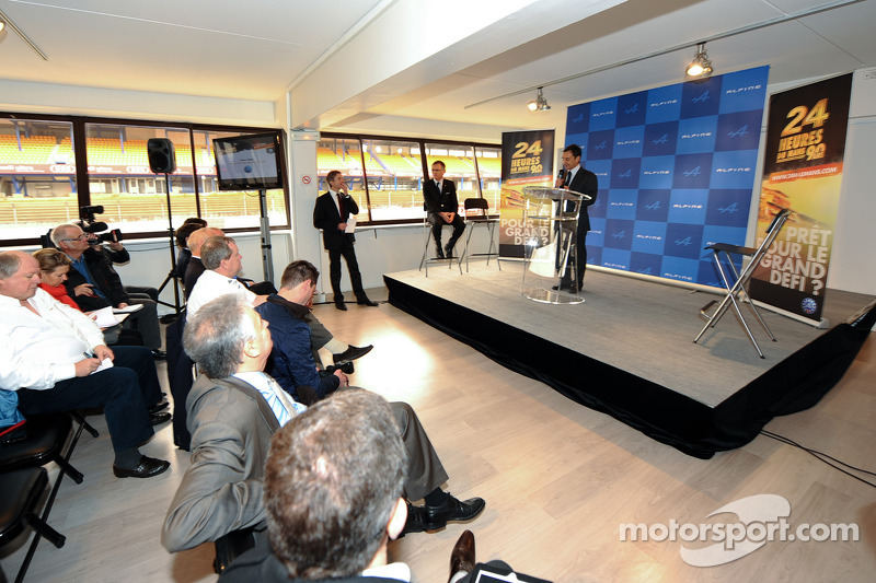 Renault Alpine возвращается в соревнования спорткаров, презентация.