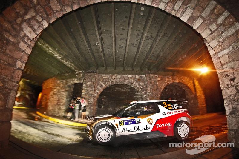 Daniel Sordo en Carlos del Barrio, Citroen DS3 WRC, Citroën Total Abu Dhabi World Rally Team