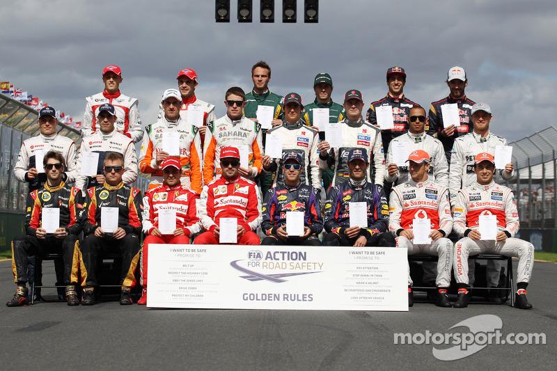 2013 Formula 1 sezonu pilotları