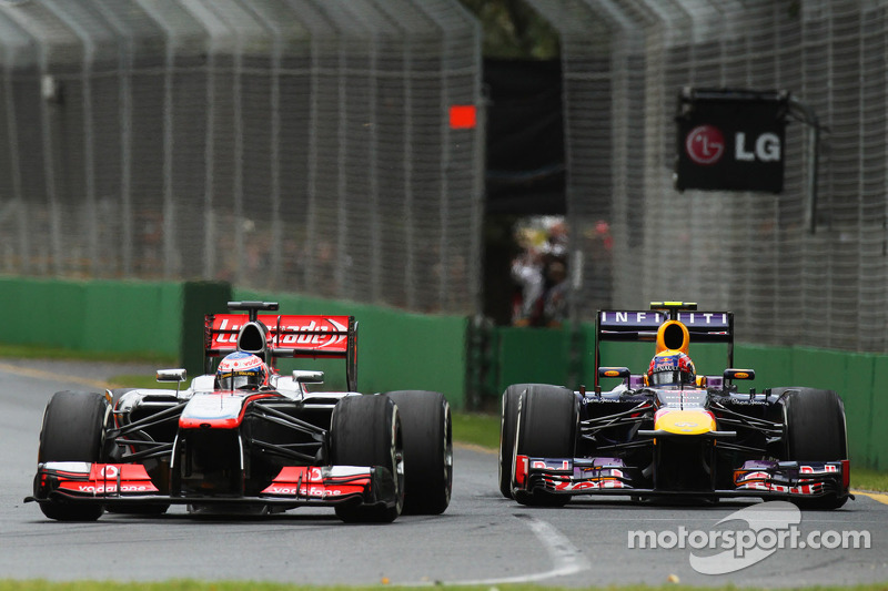 Дженсон Баттон. ГП Австралии, Воскресная гонка.
