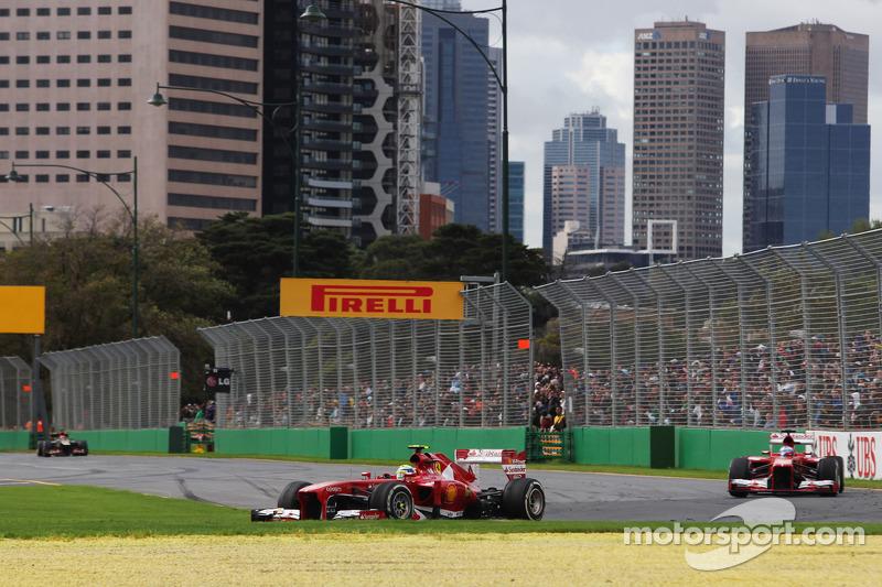 Следом финишировали Масса, Хэмилтон и Уэббер. Позади них гонку завершили напарники по Force India, а десятку замкнули Баттон и Грожан