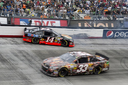 Tony Stewart, Stewart-Haas Racing Chevrolet crashes