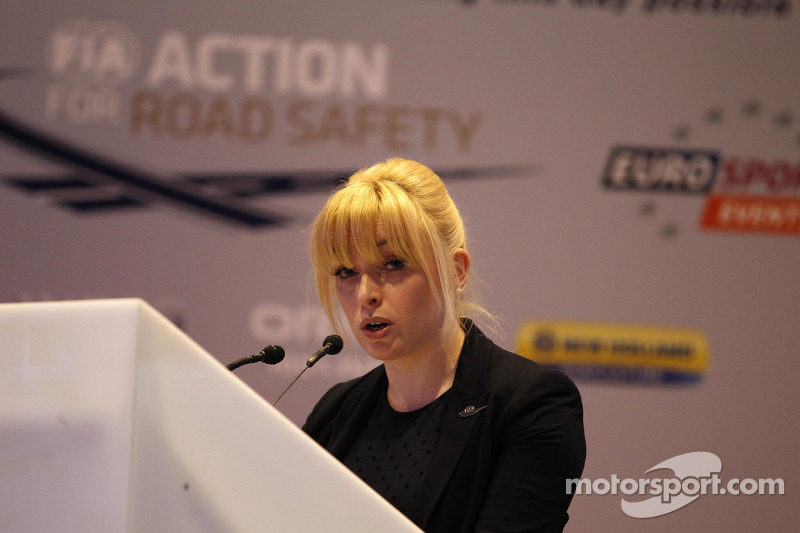 Naoise King, FIA Action for Road Safety