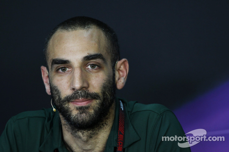 Cyril Abiteboul, Teambaas Caterham F1 bij de FIA-persconferentie
