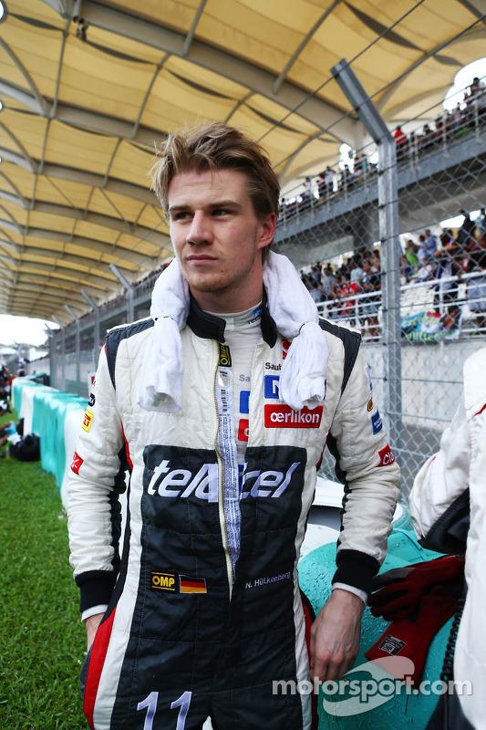 Nico Hulkenberg, Sauber no grid