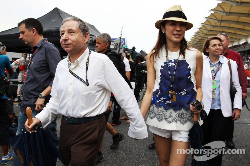 ГП Малайзии, Воскресенье, перед гонкой.