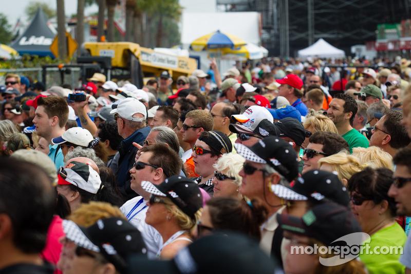 Een enorm publiek