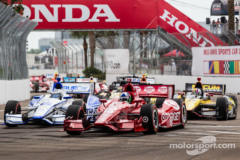 Dario Franchitti, Chip Ganassi Racing Honda