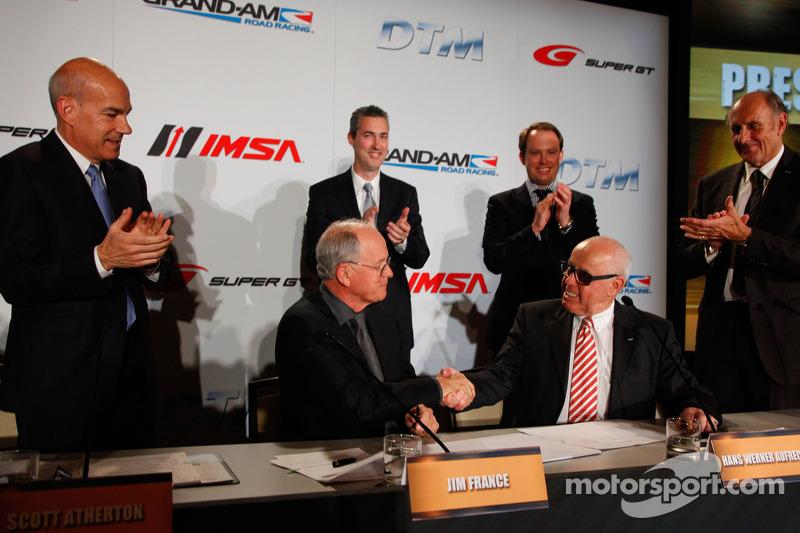 Объявление о сотрудничестве DTM и Grand-Am, особое событие.