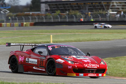 #31 SOFREV Auto Sport Promotion Ferrari 458 Italia: Fabien Barthez, Gerard Tonelli