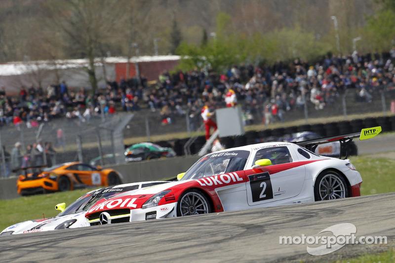 #2 HTP Gravity Charouz Mercedes SLS AMG GT3: Sergei Afanasiev, Alan Simonsen