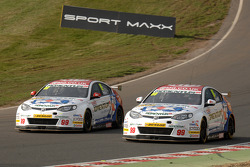 MG Duo Sam Tordoff and Jason Plato