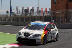 Fernando Monje, SEAT Leon WTCC, Campo Racing