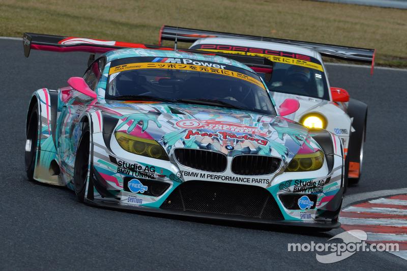 #4 GSR&Studie com Team Ukyo BMW Z4 GT3: Tatsuya Kataoka, Nobuteru Taniguchi