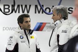 Timo Glock,  BMW Team MTEK; Jens Marquardt, BMW-Motorsportchef