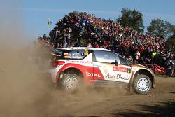 Dani Sordo, Carlos del Barrio, Citroen DS3 WRC, Citroen Total Abu Dhabi World Rally Team