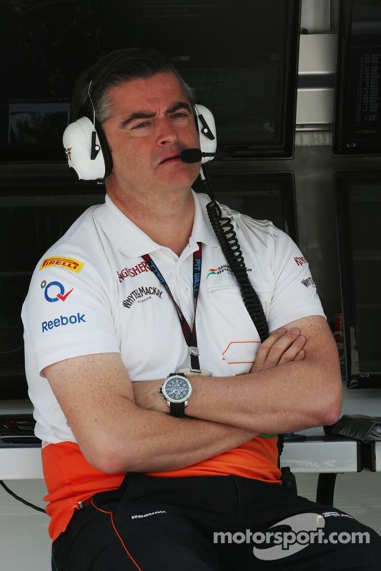 Andy Stevenson, Chefe de equipe Sahara Force India F1 Team