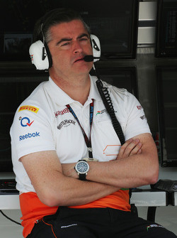 Andy Stevenson, Chefe de equipe Sahara Force India F1 Team