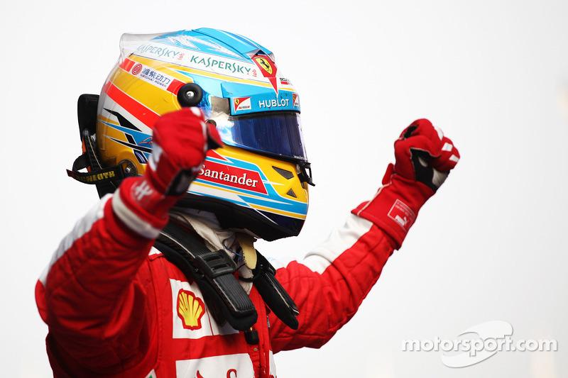 Фернандо Алонсо. ГП Китая, Воскресенье, после гонки.