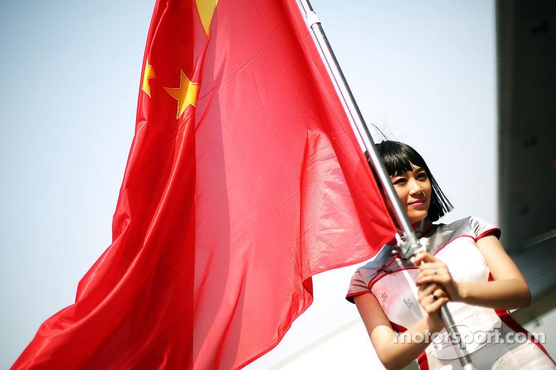 ГП Китая, Воскресенье, перед гонкой.
