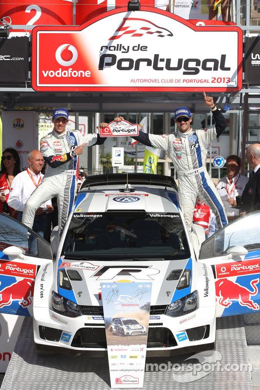 Sebastien Ogier, Julien Ingrassia, Volkswagen Polo WRC, Volkswagen Motorsport, vencedor