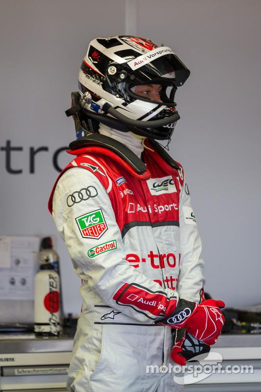 Andre Lotterer pronto para entrar no #1 Audi