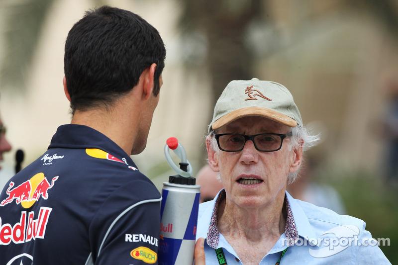 Mark Webber, Red Bull Racing with Ross Mercer, FOM Pilot