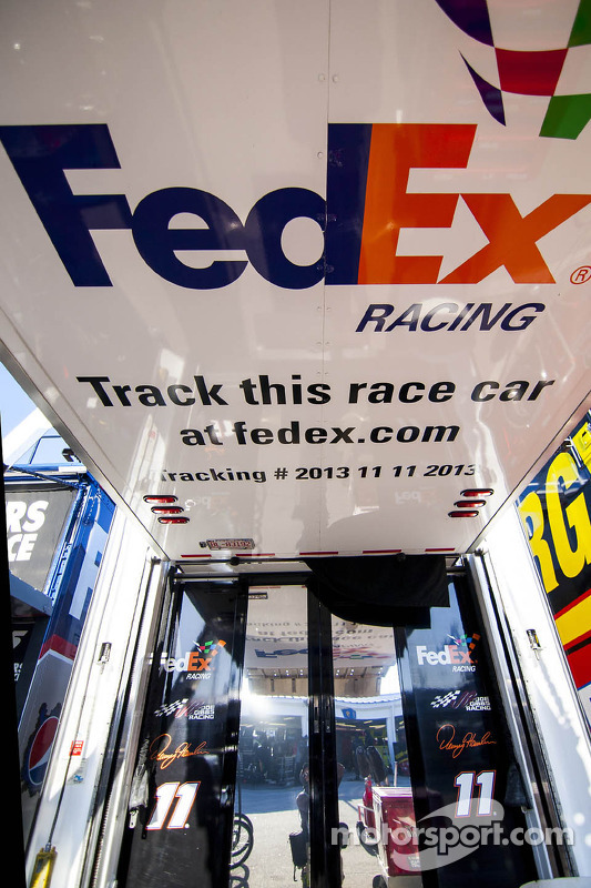 FedEx Racing detalhe