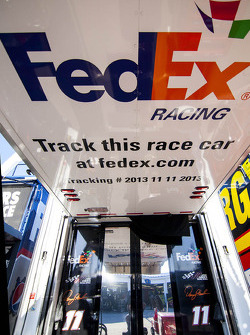 FedEx Racing detail