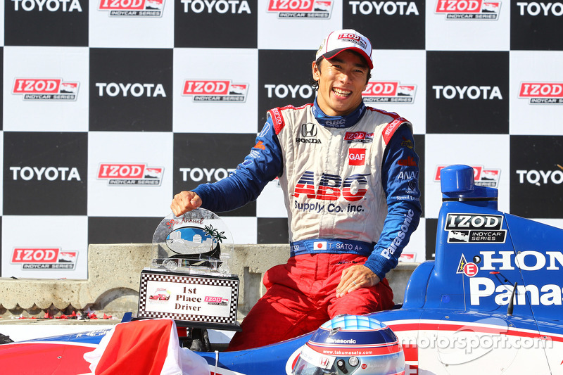 In the 2013 GP of Long Beach, Takuma Sato scored A.J. Foyt Racing's first win since Airton Dare's triumph at Kansas in 2002, and the team's first non-oval victory since the legendary team owner himself won at Silverstone in 1978!