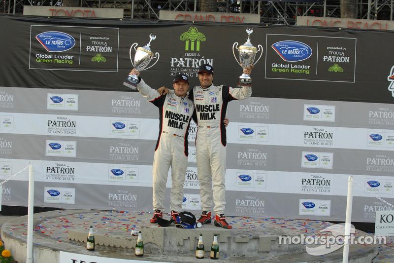 P1 podium: winners Klaus Graf, Lucas Luhr