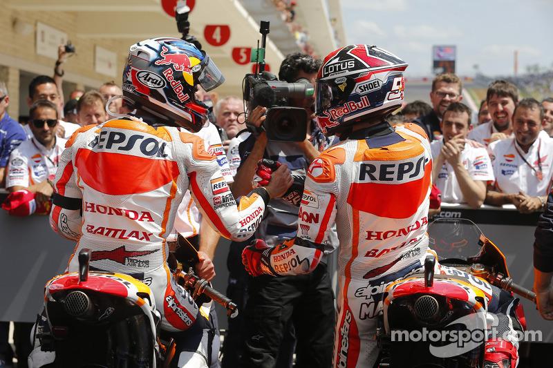 Marc Márquez y Dani Pedrosa, Repsol Honda Team