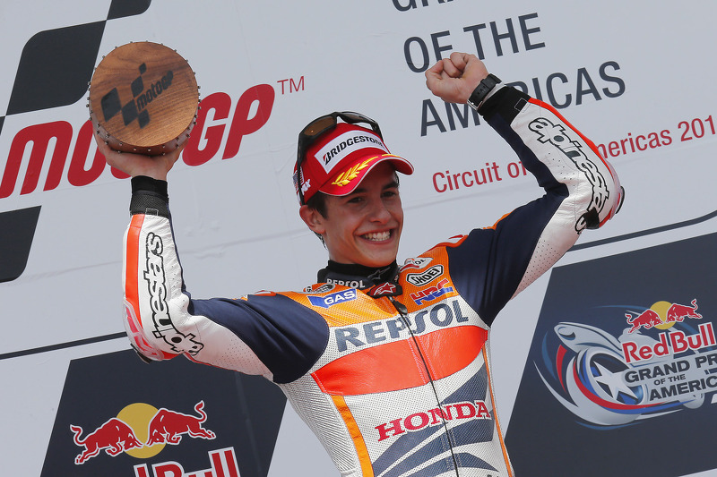 First: Marc Marquez
