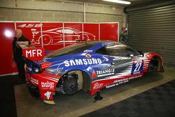 #27 Sport Garage Ferrari 458 Italia: Эрик Кэроль, Жак Вильнёв
