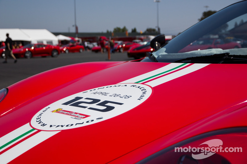 Beautiful Ferrari at Sonoma Raceway