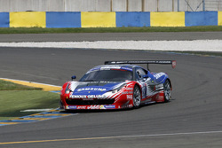 #27 Sport Garage Ferrari 458 Italia: Jacques Villeneuve, Eric Cayrolle