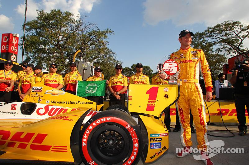 Polesitter Ryan Hunter-Reay, Andretti Autosport Chevrolet