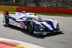 #8 Toyota Racing Toyota TS030-Hybrid: Anthony Davidson, Sebastien Buemi, Stéphane Sarrazin
