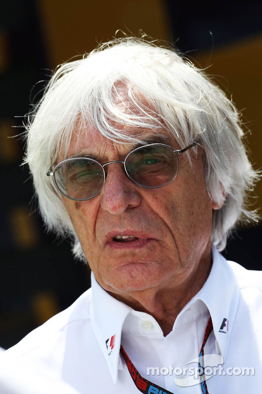 Bernie Ecclestone, CEO do Formula One Group (FOM)