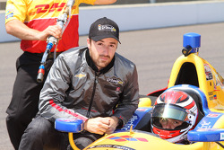 James Hinchcliffe and Carlos Munoz Andretti Autosport Chevrolet